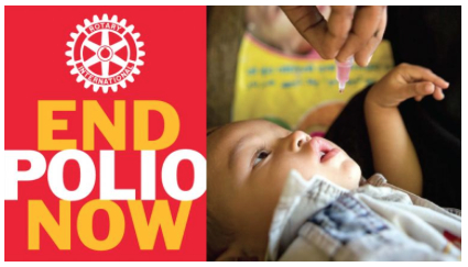 End polio now enfant 1