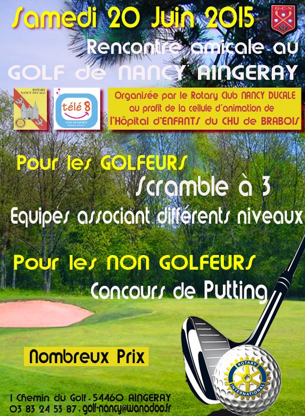 rencontre golfeuse